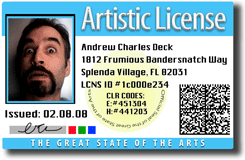 [Artistic License]